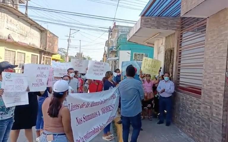 Desbandada perredista, se suman a Morena, en Cárdenas