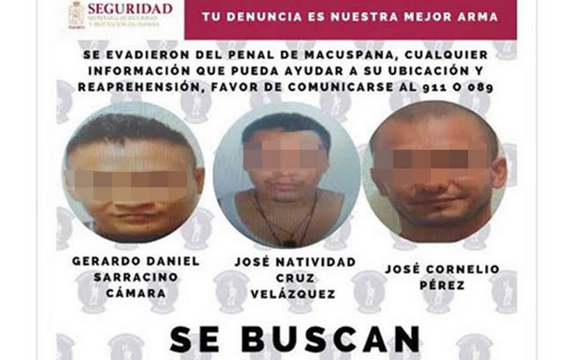 Confirma gobernador recaptura de reos fugados en Macuspana - El Heraldo de Tabasco