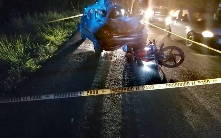 Mujer pierde la vida en trágico accidente rumbo a Huimanguillo